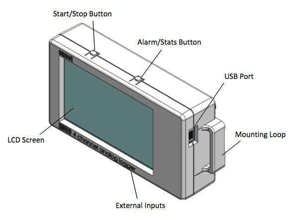 Rejestrator 4-kanałowy HOBO UX120-006M sygnałów 4-20mA/0-10V