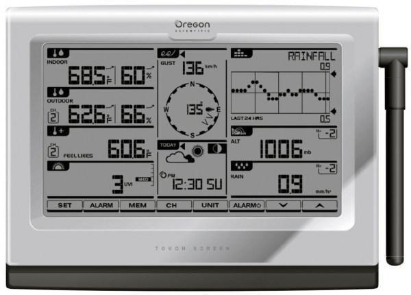Oregon WMR300 stacja pogody bezprzewodowa  półprofesjonalna zewnętrzna wiatr, opady