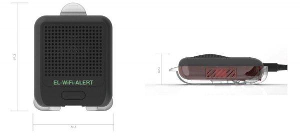 Moduł alarmowy, sygnalizacyjny Corintech EL-WiFi-Alert do rejestratorów serii Wi-Fi