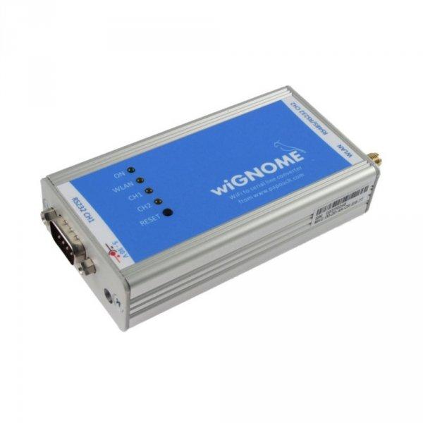 Papouch wiGNOME konwerter sygnału RS232/485 do WiFI
