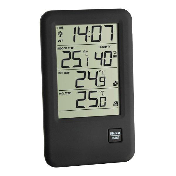 TFA 30.3053 MALIBU termometr basenowy bezprzewodowy z czujnikiem temperatury powietrza