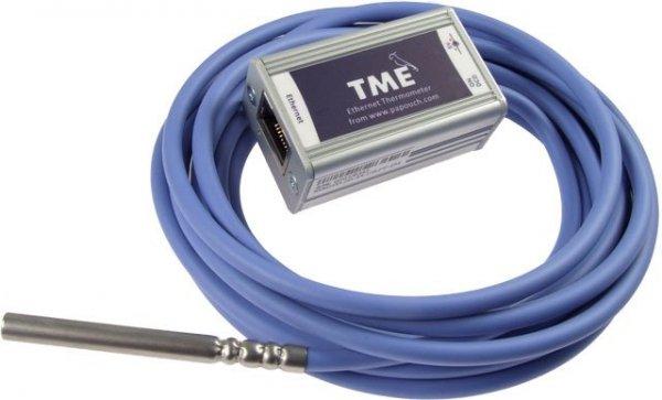 Papouch TME_P termometr internetowy czujnik temperatury Modbus TCP, Ethernet, LAN, IP