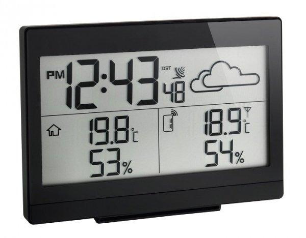 TFA 35.1135 CASA stacja pogody bezprzewodowa z czujnikiem zewnętrznym