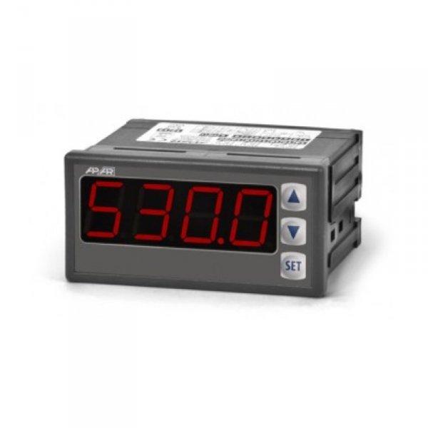 APAR AR517 miernik uniwersalny temperatury i sygnałów analogowych wyświetlacz 20 mm tablicowy 96 x 48 mm wyjście analogowe Modbus RTU