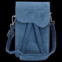 Listonoszka Skórzana VITTORIA GOTTI Made in Italy V6256C Jeans