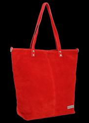 Torebka Skórzana VITTORIA GOTTI Made in Italy VG41 Czerwona