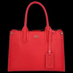 Kuferek Skórzany firmy VITTORIA GOTTI Made in Italy V554050 Czerwony