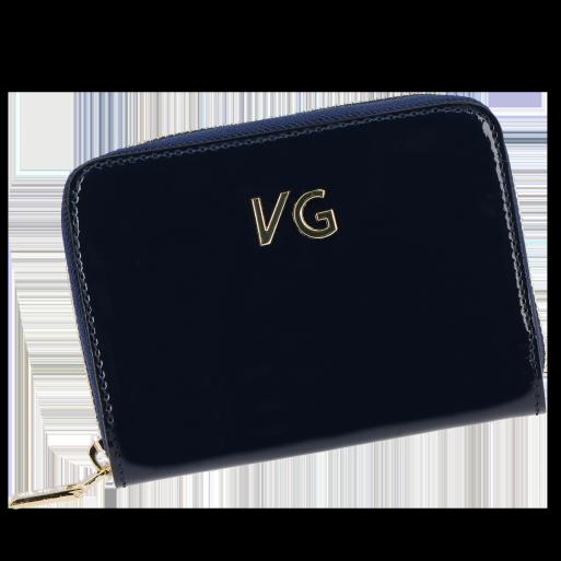 Skórzany Portfel Damski VITTORIA GOTTI Made in Italy VG004MG  Granat