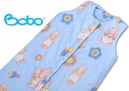 Śpiworek dla dziecka od 2 do 5 lat niebieski w hipcie