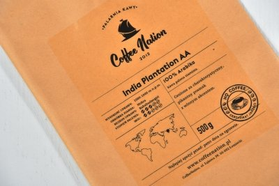 INDIA PLANTATION AA 500g - 100% Arabika