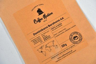 DOMINIKANA BARAHONA 250g - 100% Arabika