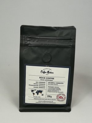 ROCK COFFEE 250g Arabika+Robusta