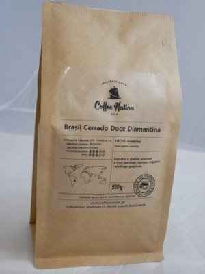 Brasil Cerrado Doce Diamantina 500g - 100% Arabika