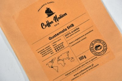 GUATEMALA 1000g - 100% Arabika
