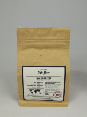BLUES COFFEE  250g Arabika+Robusta