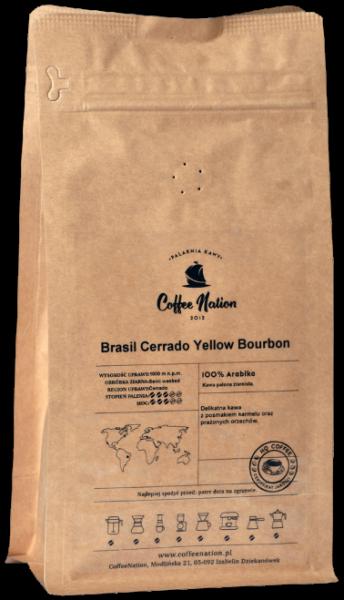 Brasil Cerrado Yellow Bourbon 1000g - 100% Arabika