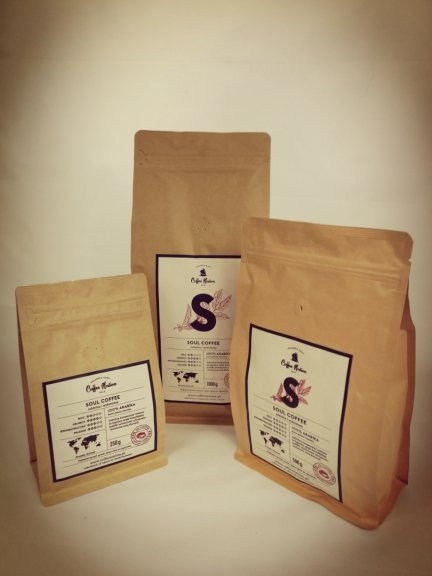 SOUL COFFEE - 100% Arabika