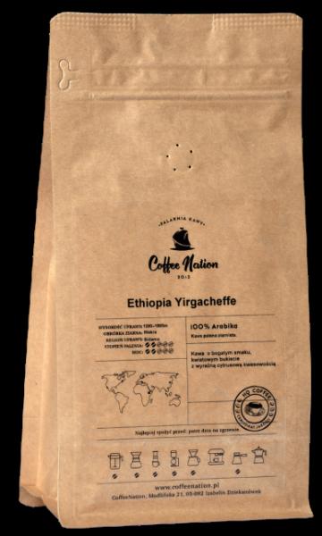 ETHIOPIA YIRGACHEFFE  500g -100% Arabika