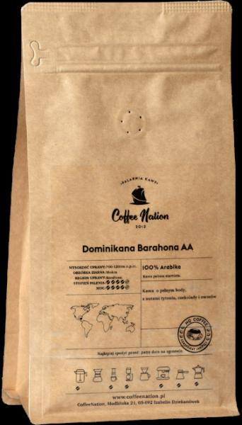DOMINIKANA BARAHONA 1000g - 100% Arabika