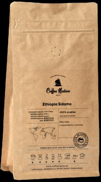 ETHIOPIA SIDAMO 500g - 100% Arabika