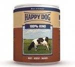 12x Happy Dog Rind Puszka 100% Wołowina 800g