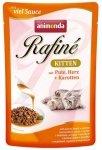 Animonda Rafiné Soupé Kitten Indyk i Serca + marchewka saszetka 100g