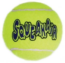 KONG AirDog Squeakair Balls Large 2szt 8cm [AST1]