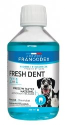 Francodex Fresh Dent płyn do higieny jamy ustnej 250ml [FR179120]