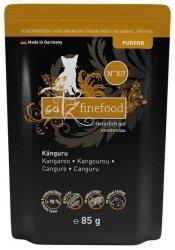 Catz Finefood Purrrr N.107 Kangur saszetka 85g