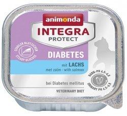 Animonda Integra Protect Diabetes dla kota - z łososiem tacka 100g