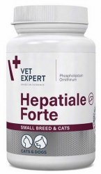 VetExpert Hepatiale Forte małe psy i kot  40 kapsułek