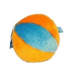 Yarro piłka pluszowa pomarańczowo-niebieska 12cm [Y0027]