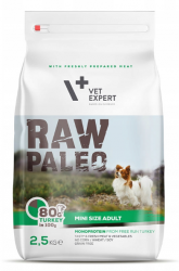 Raw Paleo Mini Size Adult Turkey 2,5kg
