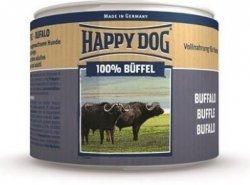 12x Happy Dog Buffel Puszka 100% Bawół 200g