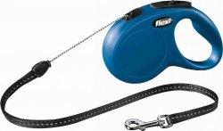 Flexi New Classic Smycz linkowa S 8m niebieska