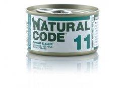 Natural Code Cat 11 Tuna and aloe 85g