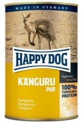 6x Happy Dog Kaenguru Puszka 100% Kangur 400g