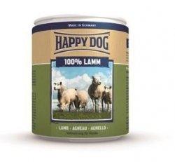 12x Happy Dog Lamm Puszka 100% Jagnię 800g