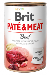 Brit Pate & Meat Beef 400g - Wołowina