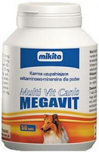 Mikita Megavit Multi-Vit Canis 50 tabletek