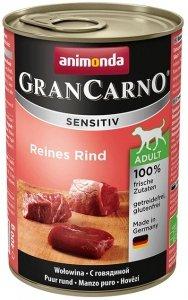 Animonda GranCarno Sensitiv Wołowina 400g