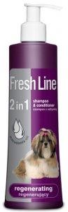 Fresh Line 2w1 Regenerujący - Szampon z odżywką 220ml
