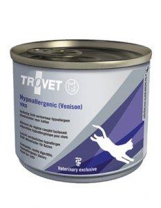 Trovet VRD Hypoallergenic Dziczyzna dla kota puszka 200g