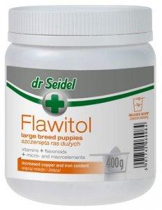 Dr Seidel Flawitol dla szczeniąt ras dużych - proszek 400g
