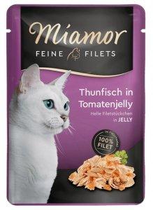Miamor Feine Filets Saszetka Thunfisch & Tomate 100g