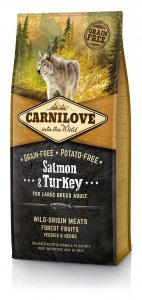Carnilove Salmon and Turkey Large Breed Adult 12kg