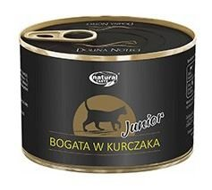 Natural Taste Cat JUNIOR z Kurczakiem 185g