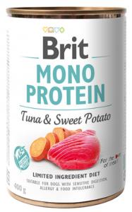 Brit Mono Protein Tuna & Sweet Potato 400g - Tuńczyk i batat