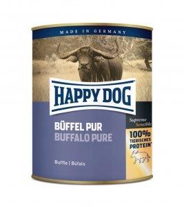 6x Happy Dog Buffel Puszka 100% Bawół 800g
