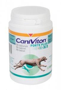 Vetoquinol Caniviton Forte Plus 90 tabletek